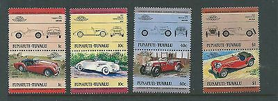 1984 Funafuti-Tuvalu Cars set 8 Complete MUH/MNH as purchased from Post Office