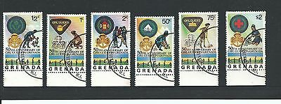 1976 The 50th Anniversary of Girl Guides in Set of 6 Complete CTO