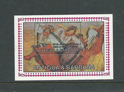 1984 150th Anniversary Edgar Degas  Mini Sheet  Complete MUH/MNH as Issued