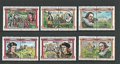 1984 Vaitupu-Tuvalu Kings & Queens set 12  Complete MUH/MNH as purchased from PO