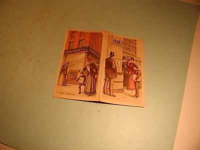 """Late 1800's """" Domestic """" Chicago 4 Page Brochure"""