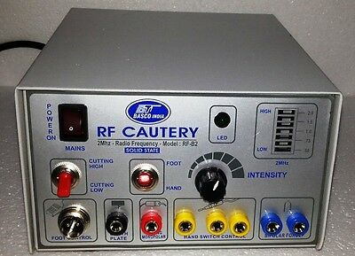 Electrosurgical Generator Surgical RF CAUTERY – 2Mhz – Radio Surgery unit