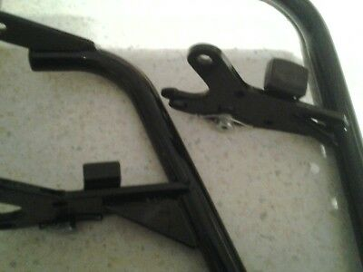 Wheelchair Invacare Lomax,Remploy, Ben 9 pair of Footrest hangers