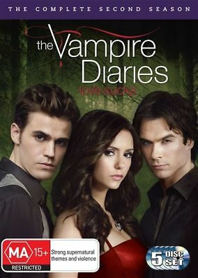 Vampire Diaries : Season 2 (DVD, 2011, 5-Disc Set) R4