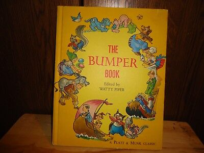 The Bumper Book Edited By Watty Piper 1969 Christopher Robin A.a. Milne