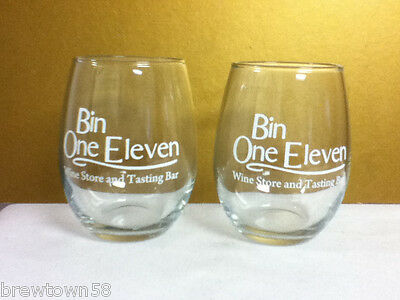Bin One Eleven wine store and tasting bar glass drink glasses 2 drinking OJ7