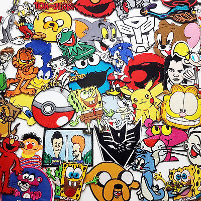 """PATCHES From """"THE BEST AMERICAN CARTOONS""""  Iron-On Patch, £1.95 EACH, UK Seller"""