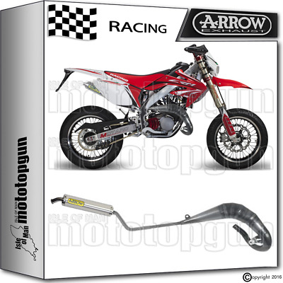 Arrow Race Full Exhaust Slip-On Round Alu Honda Crm 125 1992 92 1993 93 1994 94
