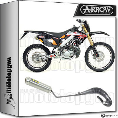 Arrow Hom Full Exhaust Slip-On Mini-Thunder Titanium Hm Cre 50 Baja Rr