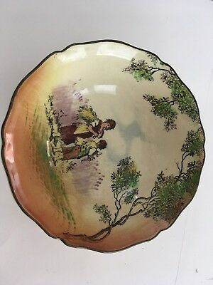 Royal Doulton Gleaners Old English Scenes Gypsies Series Bowl