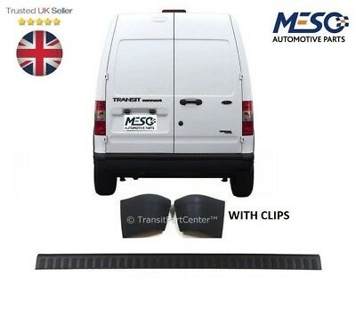 Rear Bumper Top Trim Cover  & 2 End Caps Ford Transit Connect 2002-2013 New