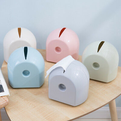 ITS- Candy Color Home Tissue Box Container Roll Paper Holder Case Dispenser Calm