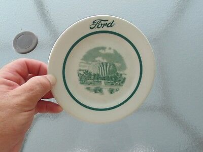 Vintage Shenango Ford Motor Company Executive Dining Dinner Small dish Plate
