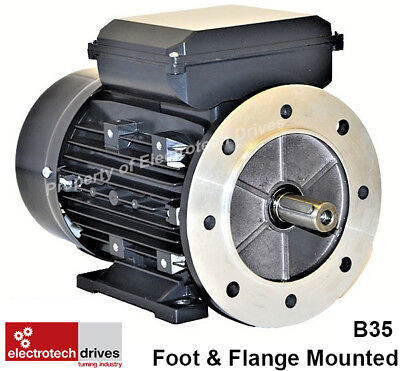 Single Phase, 240V Electric Motor, foot flange and face options.1400rpm 2800rpm