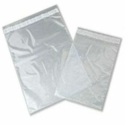 """50 Clear Plastic Mailing Bags Size 9x12"""" Mail Postal Post Postage Self Seal"""