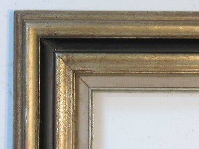 Vintage Great Quality Gilt/ Silver Frame For Painting  14 X 10  Outside 23 X 19