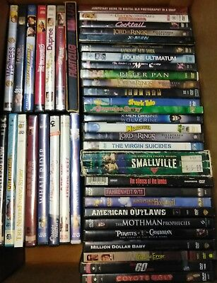HUGE Lot of (43) Mixed DVD Movies Collection Action,TV, Drama, Free Ship LOT#118