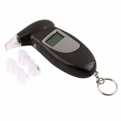 Alcohol Breath Test Breathalyser Tester Detector LCD Digital Analyzer Brand New