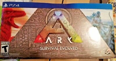 ARK Survival Evolved Limited Collector's Edition PS4 SEE PHOTOS