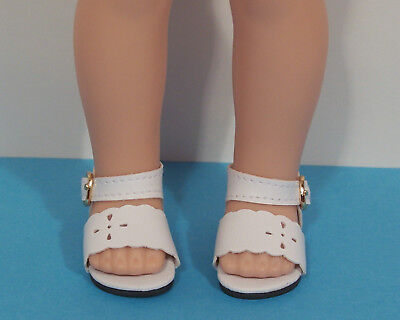 """RED Flip Flops Sandals Doll Shoes For 14/"""" AG Wellie Wisher Wishers Debs"""