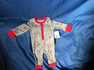 fcc59e978493 RUDOLPH THE RED-NOSED Reindeer Baby s First Christmas Footed Sleeper ...