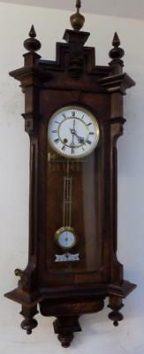 lenzkirch vienna wall clock 1900s