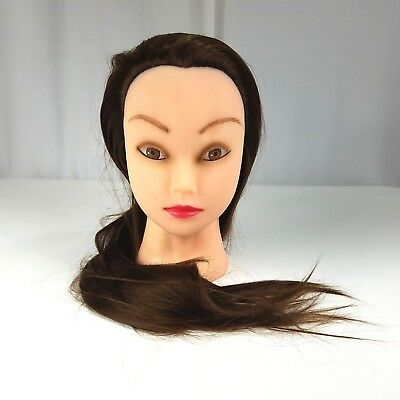 "Cosmetology Mannequin Head Hair Styling 28"" Hair Training Mannequin Doll"