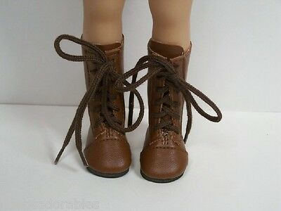 """Debs 2-Tone BROWN Cowboy Boots Doll Shoes For Dianna Effner 13/"""" Little Darling"""