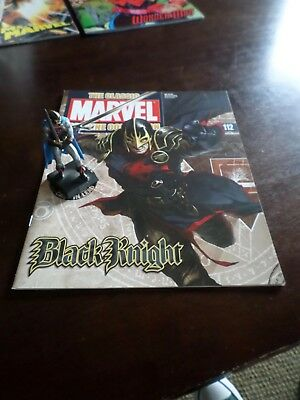 Black Knight #112 The Classic Marvel Figurine Collection Eaglemoss Lead Statue