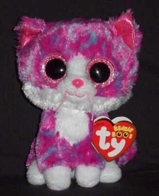 Like us on Facebook · TY BEANIE BOOS - CHARLOTTE the CAT (CLAIRE S  EXCLUSIVE) -MINT with MINT TAG f6468cb471dd