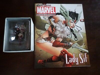 Lady Sif #179 The Classic Marvel Figurine Collection Eaglemoss Lead Statue