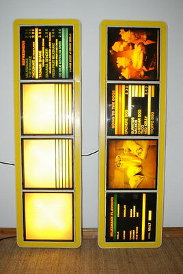 1x4 Light Boxes for Advertising/Menu  Ice Creamery, Cafe, Take Away, Restaurant