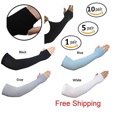 Cooling Arm Sleeves UV Cover Basketball Cycling Sun Protection Sports band