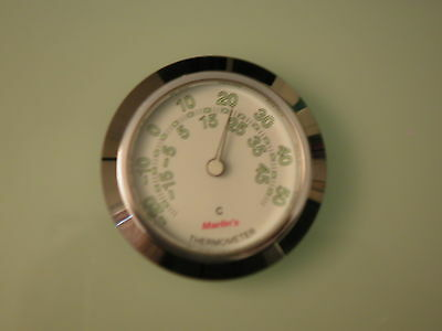 Kuryakyn 6035 Marlin's Radiant White Thermometer Face Only in Celsius/Centigrade