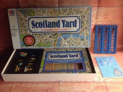 scotland yard board game how to play