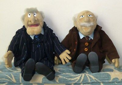 Original Rare Waldorf and Statler Dolls Catric (Igel Junior Toys) Muppet Show.