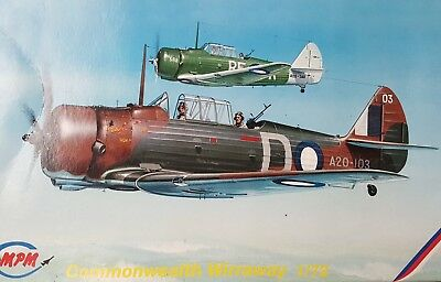 1/72 MPM CAC Wirraway with decals for two RAAF aircraft
