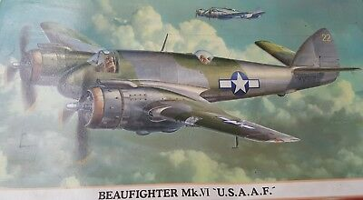 1/72 Hasegawa Bristol Beaufighter VI with decals for two RAAF aircraft