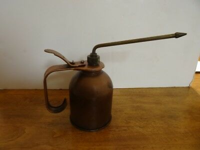 Vintage Eagle Hydraulic Oiler Can