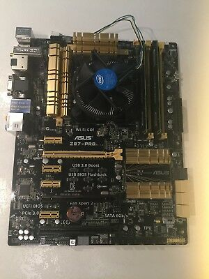 Gaming Bundle: Intel I5-4460 + Asus Z87Pro Mainboard + Ballistix 8GB RAM