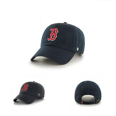 f07e067e ... get sale 47 mlb boston red sox mens brand home clean up cap navy f0290  0a8d6