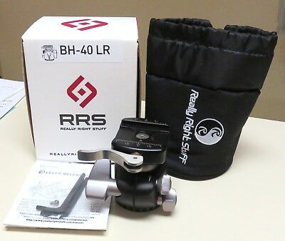 Really Right Stuff BH-40 LR Ballhead with compact Lever-Release Clamp