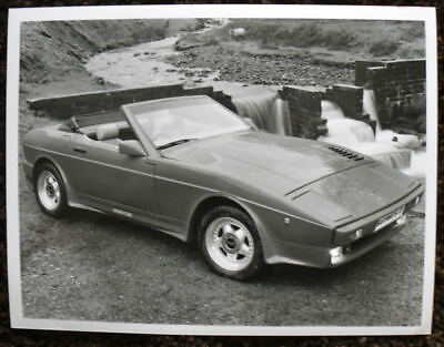 Tvr 390 Se Series 2 Press Photograph Black & White Undated