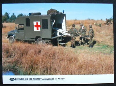 Land Rover Defender Xd Military Ambulance Press Photograph Colour Undated