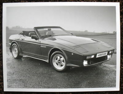 Tvr 450 Se Press Photograph Black & White 1988 - 1989