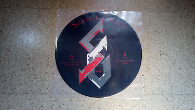 SAVAGE GRACE - Ride Into The Night Picture Disc !!!!