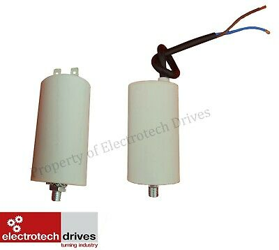 Electric motor Run Capacitor capacitors 2uf to 100uf mfd 400/450v with lead new