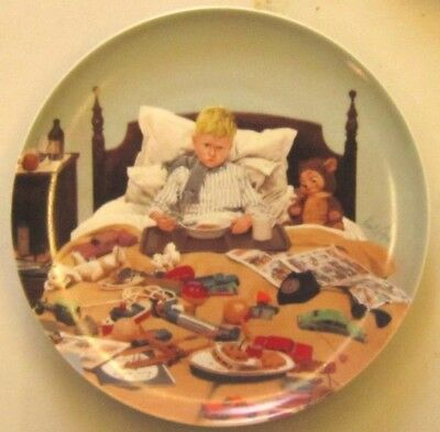 BING and GRONDAHlL Moments of Truth plate, Bad Cold 1985 Kurt Ard