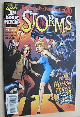 Marvel Comics - Before the Fantastic Four: The Storms 1  (2000)