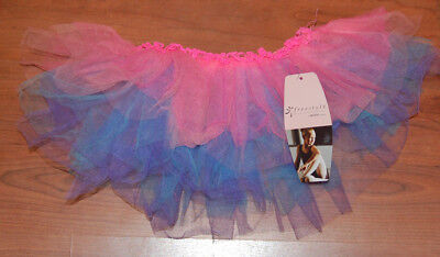 Girls  Freestyle By Danskin Dance Costume  Multi-colored Tutu  (4-6x) Skirt NEW